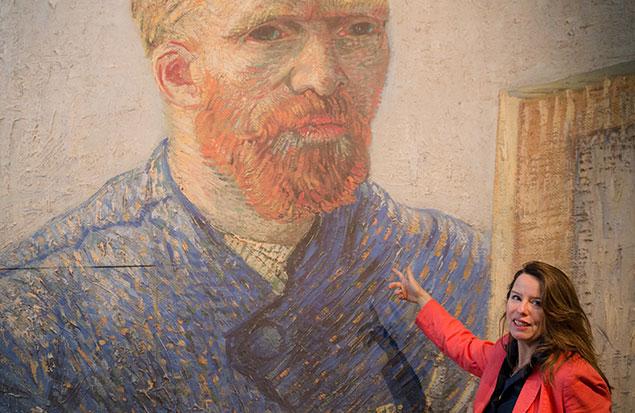 Van Gogh's adventurous
